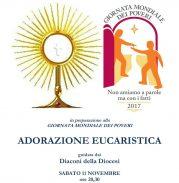 Giornata dei Poveri: Adorazione eucaristica