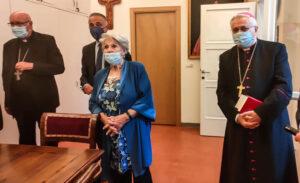 intitolazione sala al cardinale Silvestrini